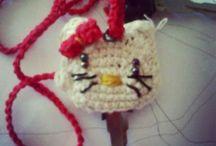 crochet / key cover