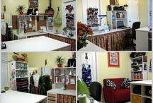 Dream Sewing Spaces & Places