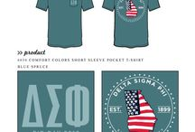 Delta Sigma Phi / Delta Sigma Phi custom shirt designs #deltasigmaphi #dsf #dsp  For more information on screen printing or to get a proof for your next shirt order, visit www.jcgapparel.com