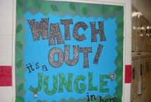 Jungle Themed Classroom