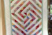 Half Squares Triangle Quilts