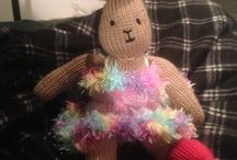 Knitted toys / Toys I've made