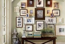 Wall Photo Gallery Ideas / by Tara Kuczykowski