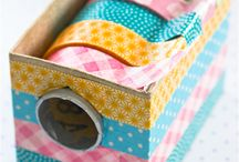 Washi tape et emballages