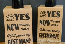 best man invitation ideas