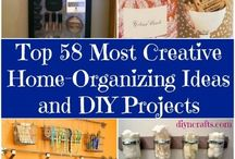 home organizing ideas and diy