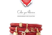 Endless Jewelry Love Collection / The Valentine's Day 2015 Collection from Endless Jewelry.