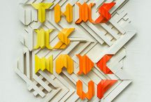 College (Typography) / A collection of typographic designs for inspiration