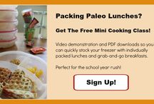 Paleo Freezer Cooking Meals / Recipes that are good for the freezer, grain-free gluten free, GAPS Diet friendly.  / by Cara Health, Home, & Happiness