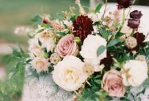 Wedding flowers and colour scheme