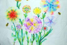 textiles plant art topic