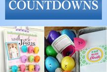 Easter Christ centred countdown