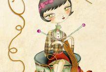 Tea Illustration... / by Val Chastan