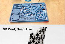 3D print & Lazer Cut