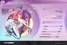 game character ui