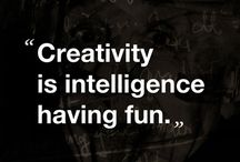 Creativity / Creativity is one of the most important skills we can give any child.