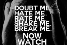 Kickboxing motivation