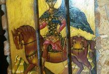 Εκθεση Επιπλα από παλέτες και Βυζαντινή τέχνη