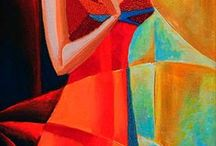 Colourblocking / Inspiration from Cubist art and fashion influences