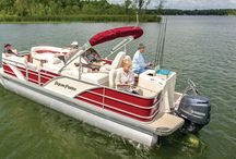 Aqua Patio Pontoon Boats / by Godfrey Pontoons