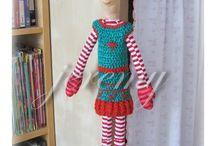 Moje tvoření - My crafts / Veškeré mé tvoření...šití, háčkování...
