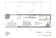 Planos de planta de casa