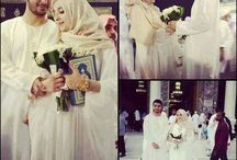 Moslem pre and wedding