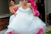 Pink wedding/ thema roze