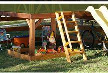 Espacios de juego y diversión / Espacios de juego y diversión dentro y fuera de las Casitas Infantiles