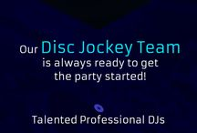 Quality Entertainment's Disc Jockey Services / Quality Entertainment's Disc Jockey Team is always ready to get the party Started!!  With   Talented Professional DJs Largest Music Selection Library Latest & Greatest Hits Entertainment Ideas Photo Booth  MC's