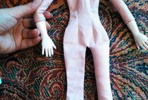 Куклы ткань, фарфор