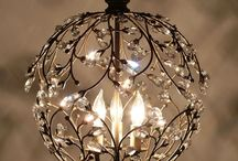 Chandeliers and lovely lights / Lights, lighting, lamps