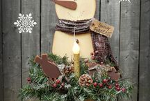 Wooden Holiday Items!!