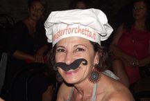 Facce da Mister Forchetta / I nostri cappellini in giro per l'Italia