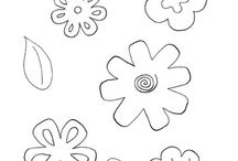 Coloring Pages & Printable Crafts / by KinderArt.com
