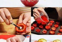 verfrissend aardbeien shotje
