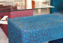Muka  muebles de caucho 100% reciclado