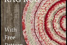 Rugs DIY / Virkade mattor