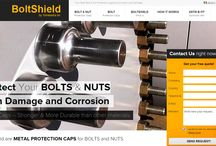 Portfolio - BoltShield / Our work for BoltShield http://www.boltprotection.com/it