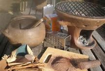 Pots of the World  / Cooking utensils from the world over.