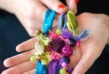 Fabric Scrap DIY Bracelets | Henry Happened