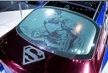 Superhero Cars