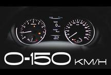 Wideo - 0-140 km/h / Pusta droga i gaz do podłogi! Jedne samochody przyjmują to z radością, a inne z ociąganiem. Zobaczcie sami, czy wciśnie Was w fotel!