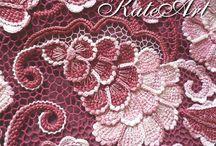 *Burdeos y rosa