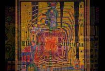 "HUNDERTWASSER ( Friedensreich Hundertwasser ""Reino de la Paz con Cientos de Aguas"")"