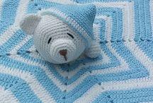 blanky, blankey crochet figure