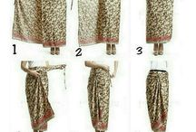 model sarung