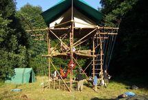 Tábori építmények