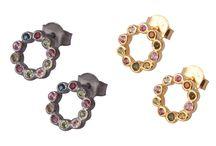 Gemstones inspiration / Earrings & Rings from Jaipur.