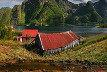 Norway/Norge and his Vikings / by Tibet Tenzin